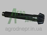 Вал вторичный коробки перемены передач трактора ЮМЗ 40-1701105