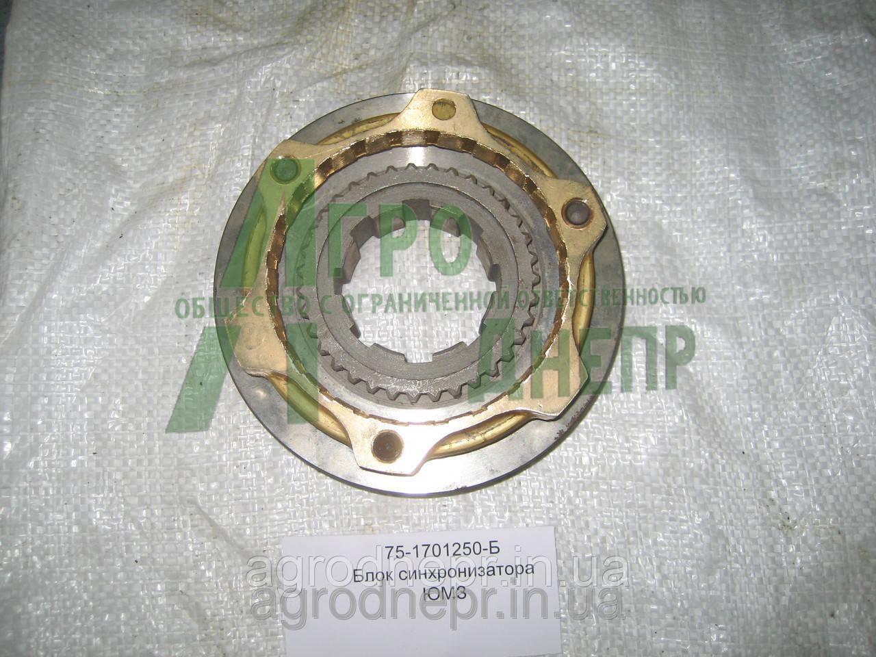 Блок синхронизатора (синхронизатор) КПП ЮМЗ 8280 75-1701250-Б
