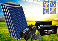 Автономная станция 1 кВт с инвертором 2 кВт.