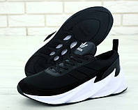 """Кроссовки мужские Adidas Shark """"Черные с белым"""" адидас шарк р. 41-45, фото 1"""