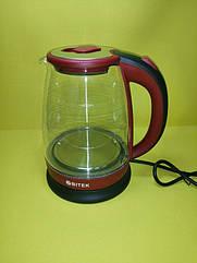 Чайник Bitek BT-3110 Red с LED подсветкой 1.8 Литра 2400W