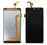 Дисплей (LCD) Bravis A504/  X500 Trance Pro/  Leagoo M5/  Assistant AS- 5433 c сенсором черный