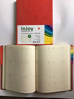 Еженедельник недатированный Injoy B5  (225х175 мм) sks 304 страницы