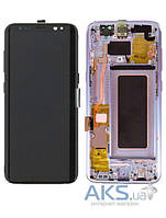 Дисплей Samsung Galaxy S9 G960F|оригинал|с сенсорным стеклом|фиолетовый