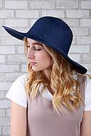 Широкополая шляпа Famo Широкополая шляпа Диско синяя - 137130