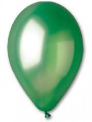 "Воздушный шар 10 дюймов металик ""зелёный"" 1шт"