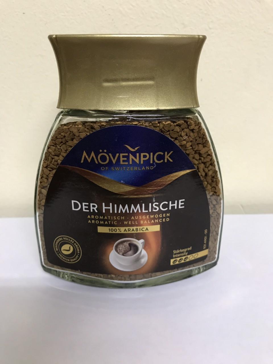Кава розчинна Mövenpick Premium Elegance 100 гр.