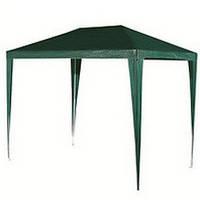 Садовый павильон шатер 3x3 м тёмно зелёный (Без москитной сетки)