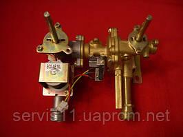 Газо-водяной блок газовых колонок 10л (подсоединение к теплообменнику флянец)