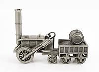 Скульптура, паровоз ROCKET, олово, Германия, фото 1