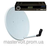 Комплект спутникового ТВ на 3 спутника для 3-х ТВ