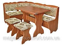 Кухонный уголок Лорд мягкий + стол +табуреты