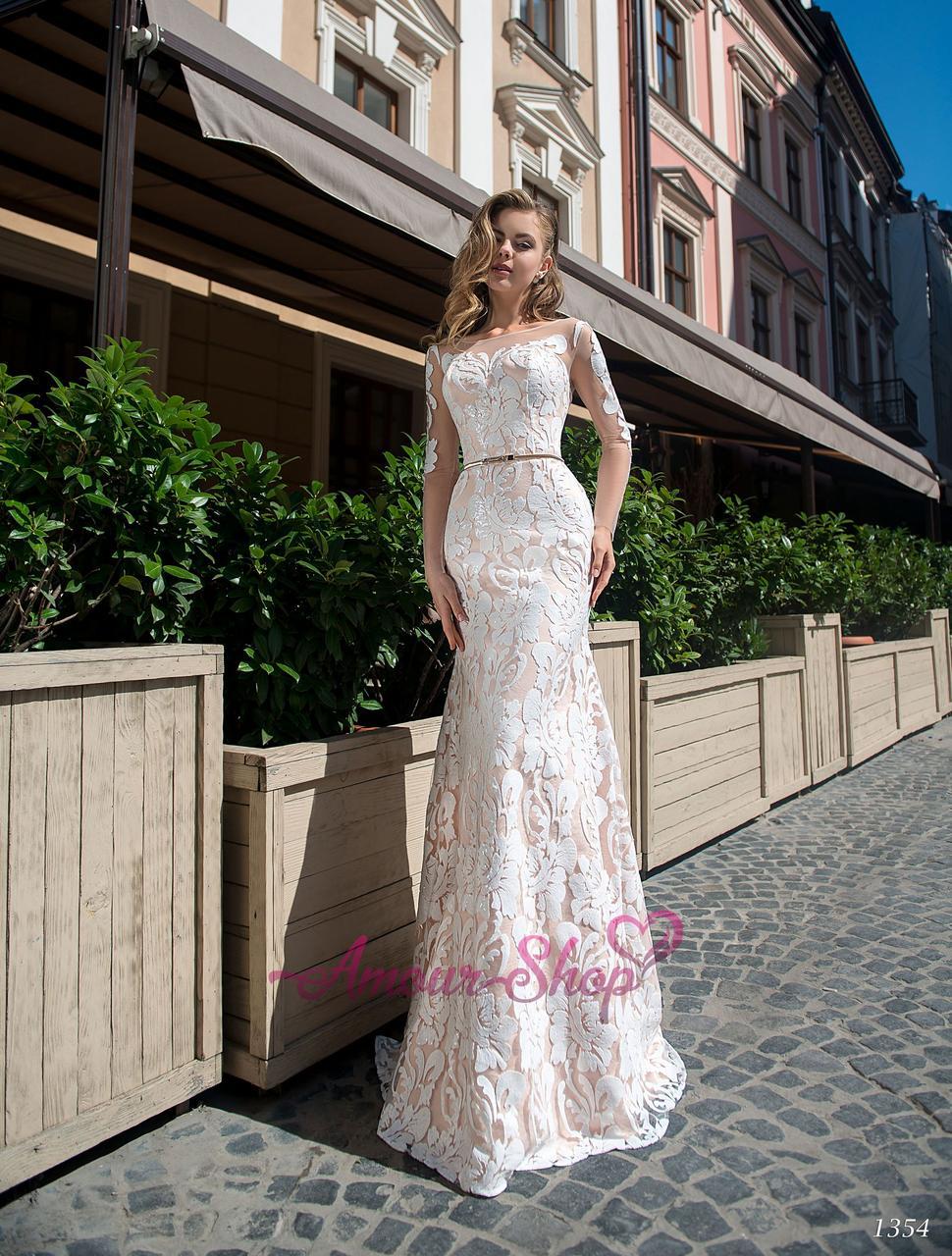 Свадебное платье Годе по фигуре рыбка