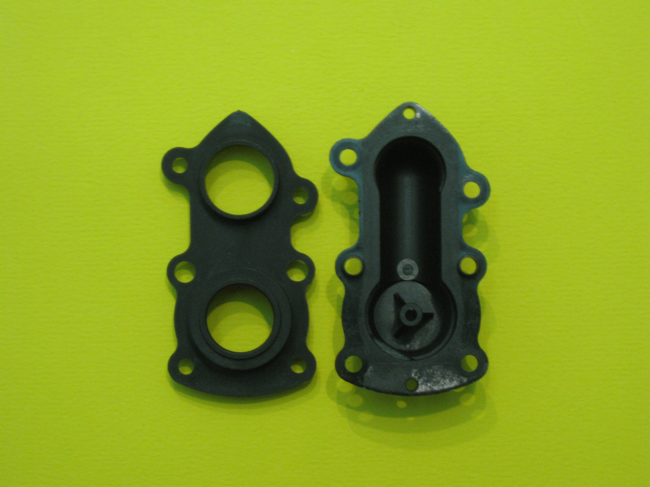 Задняя пластмассовая часть гидроблока 3003201631 (D003201631) Demrad Kalisto Mono HK (BK) - B -124 / 130 D , фото 2