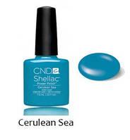 Лет. кол. 2014 Гель-лак Shellac Cerulean Sea (яркий голубой-синий) 7,3 ml