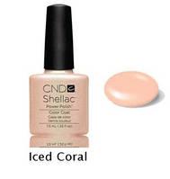 Гель-лак Shellac Iced Coral 7,3 ml 517 (персиково-бежевый)