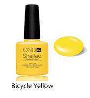 Лет. кол. 2014 Гель-лак Shellac Bicycle Yellow (яркий желтый) 7,3 ml