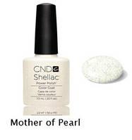 Гель-лак Shellac Mother of Pearl7,3 ml 520 (прозрачное с небол. серебряными блестками.)