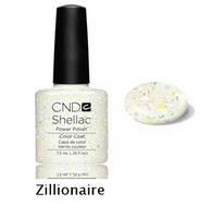 Гель-лак Shellac Zillionaire 7,3 ml 527 (прозрачный с разноцветными блестками)