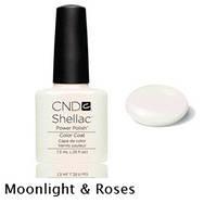 Гель-лак Shellac Moonlight & Roses7,3 ml 528 (молочно-розовый)
