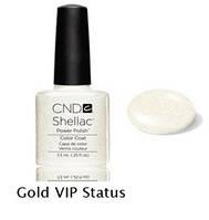 Гель-лак Shellac Gold VIP Status 7,3 ml 535 (прозрачный с золотом)