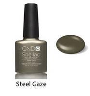 Осенняя коллекция Shellac Steel Gaze 7,3 мл (бронзовый с золот.миктроблеском)