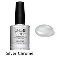 Гель-лак Shellac Silver Chrome 7,3 ml 532 (серебряный блеск)