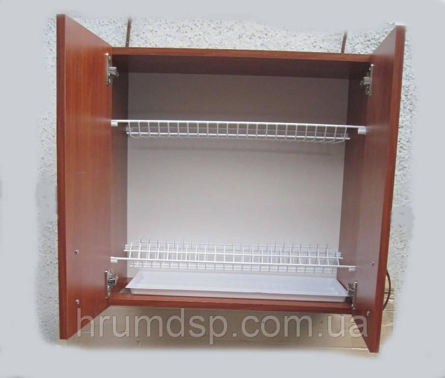 Сушилка для посуды 60см в шкафу с петлями