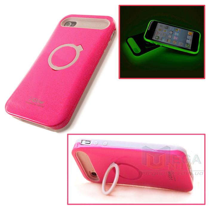 I-Glow Флуоресцентный чехол для Apple iPhone 4/4S