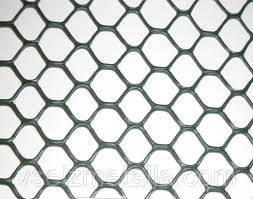 Ограждение декоративное ЭКСАГОН яч. 19*20мм, (1м*30м) серебро, фото 2