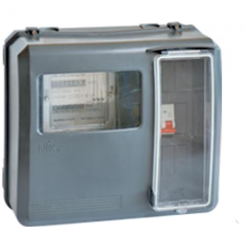 Коробка під лічильник 3ф прозора  КДЕ-У ІР-54