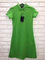 Модне літнє трикотажне турецьке плаття, зелений. FL 1100