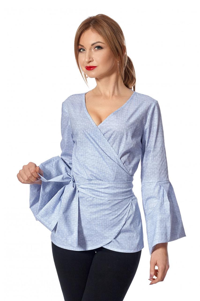 Женская рубашка-кимоно №445 (серый)