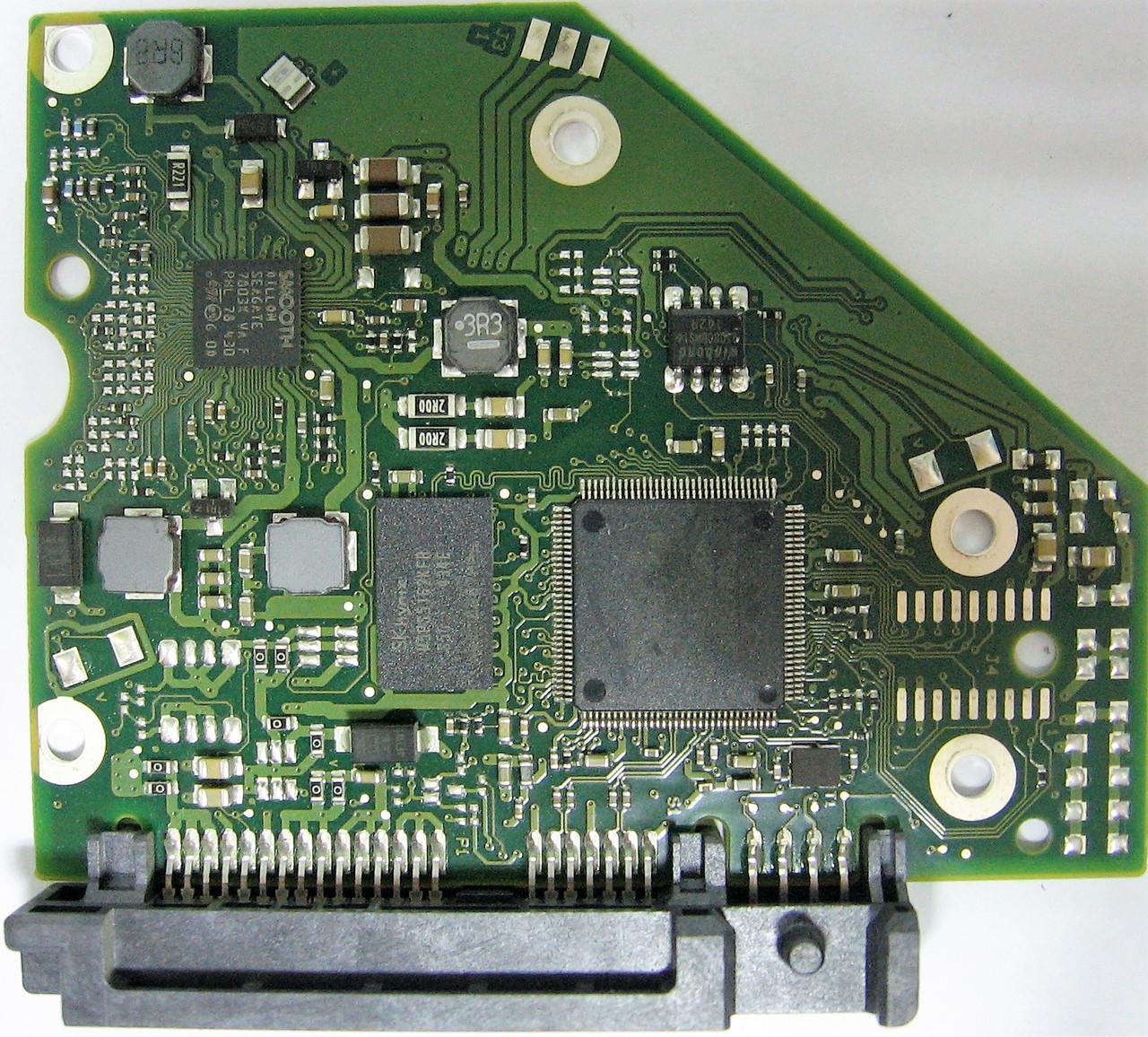 Плата HDD 2TB 7200rpm 64MB SATA III 3.5 Seagate ST2000VX000 100724095