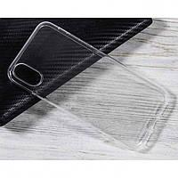 Чехол для Huawei P Smart Plus силиконовый бампер прозрачный Premium