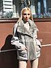 Новая коллекция курток с мехом, 44/46 размер