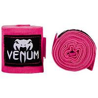 Бинты Venum Kontact Neo Pink 4 м