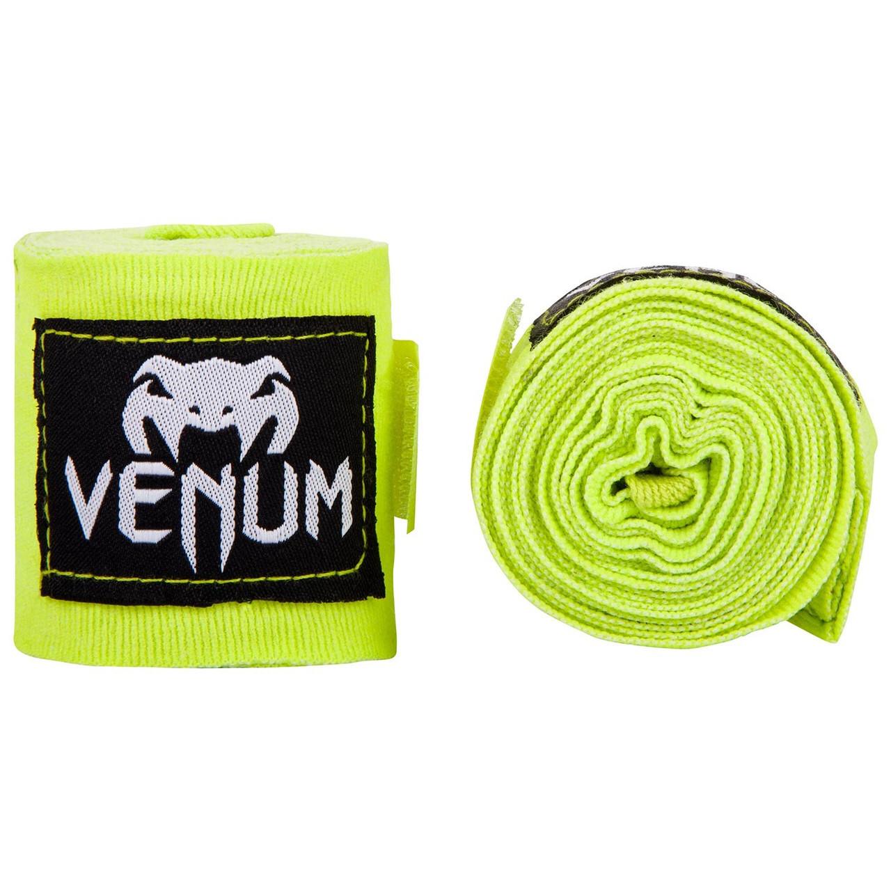 Бинты Venum Kontact Neo Yellow 4 м
