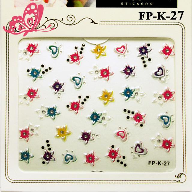 Самоклеющиеся 3D Наклейки для ногтей Nail Sticrer  серия FP-К-00 Бабочки, Сердечки, Цветы и с Камушками и Стразами, стикеры для ногтей, стикеры для маникюра, nail art (нейл-арт), наклейки для дизайна ногтей, стикер наклейки для быстрого красивого дизайна ногтей, по оптовым ценам, заказать и купить дешево оптом, мелким оптом через интернет магазин https://opt21.com с доставкой по всей Украине от Компании Маргарита город Днепр.
