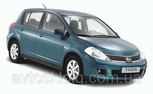Стекло лобовое, заднее, боковые для Nissan Tiida (Хетчбек, Седан) (2007-2012)