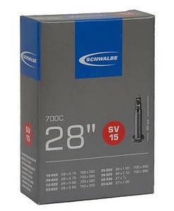"Камера 28"" (18/28x622/630) Schwalbe SV15 IB 40мм (10427343) TUB-F1-05"