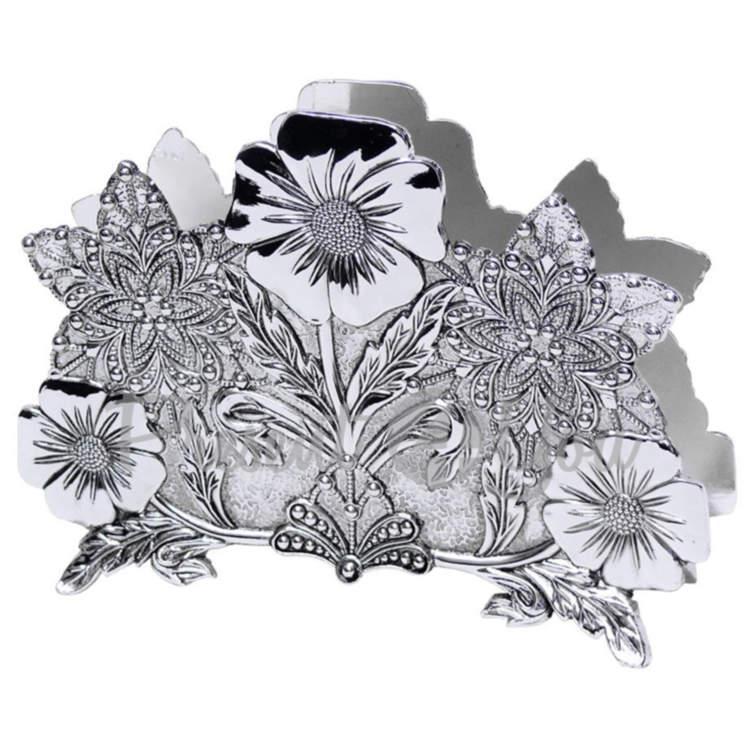 Салфетница «Нежные цветы», 9х13х2 см (466-1135)