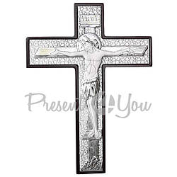 Настенный крест «Распятие», 23х17 см (466-1152)
