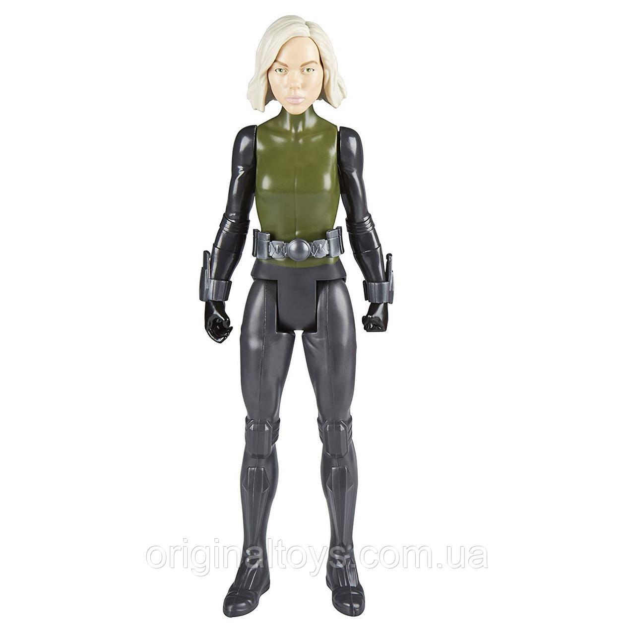Фигурка Чёрная вдова Black Widow Marvel Infinity War Titan Hero Series Hasbro, 30 см E2217