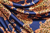 Ткань шелк армани принт  из коллекции DOLCE & GABBANA №401, фото 1
