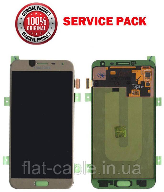 Дисплей + сенсор Samsung J400 Galaxy J4 Золотистый Оригинал 100% SERVICE PACK GH97-21915B