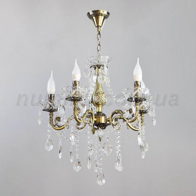 Люстра подвесная на пять ламп 3-N3054/5AB