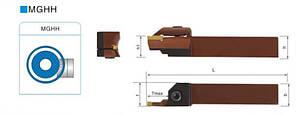 MGHH420R 35/48 Резец (державка) токарный канавочный, фото 2