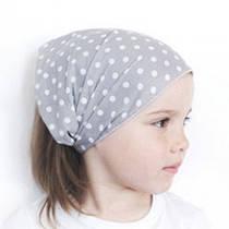 Косынки, банданы и тонкие летние детские шапки