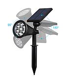 Газонні світильник на сонячній батареї мультикольорової 7 LED, фото 4